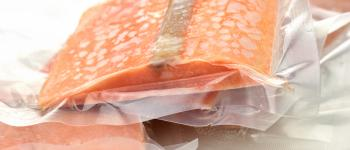Plastic bags heat sealed and manufactured with CHEMFAB ptfe coated non-stick release sheet